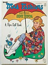 ORIG Vintage!! 1966 Jane Fonda MOD FASHIONS Paper Doll Book UNUSED! barbarella
