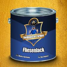 Goldmeister Farben hochwertiger 2-K Fliesenlack in Weiß Grau Schwarz ALLE RAL