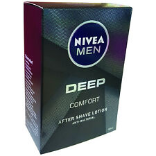 Nivea Men Deep Comfort, After Shave lotion, anti-bacterial, 100 ml
