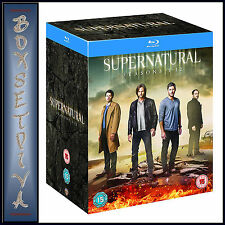 SUPERNATURAL - COMPLETE SEASONS 1 2 3 4 5 6 7 8 9 10 11 & 12 *BRAND NEW BLU-RAY