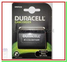 Batteria Ricaricabile DURACELL DR9700B = SONY NP-FH70 x DCR-SR220 HDR-UX7