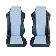 MAN TGA , TGL , TGM , TGS , TGX  Truck Seat Covers FARBRICK BLACK and GREY