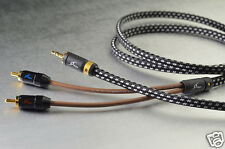1pcs - MPS X5-Leopard 1.2M (1.2meter) 3.5mm to 2RCA stereo cable