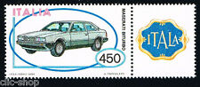 ITALIA 1 FRANCOBOLLO MACCHINA MASERATI BITURBO AUTO APP. 1984 nuovo**