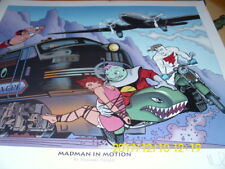 Madman In Motion Original Comic Art Mike Allred Hand Signed Numbered Print #450