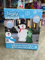 Gemmy 2020 7 Foot Tall Frosty the Snowman Christmas Airblown Inflatable