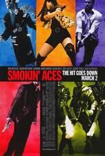 SMOKIN' ACES Movie POSTER 27x40 Ben Affleck Jason Bateman Peter Berg Brian Bloom