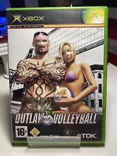 Outlaw Volley-ball Microsoft Xbox Original Jeu Complet avec Manuel Sans p&p