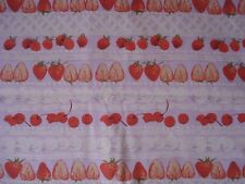 Martha Negley  Rowan Fabrics STRAWBERRIES, CHERRIES, RASPBERRIES on Lavender BTY