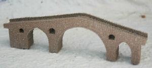 Z GAUGE Z SCALE 1:220 ONE OF KIND DOUBLE ARCH STONE Cangas de Onis Bridge