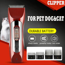 7 in 1 Rechargeable Pet Dog Clipper Grooming Trimmer Animal Electric Shaver