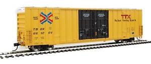Walthers HO Scale 60' High-Cube Boxcar TTX/TBOX #661204 (Red/Next Load Any Road)