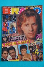 Zeitschrift BRAVO Nr.15 / 1989, Don Johnson, David Hasselhoff, Doro, Bros