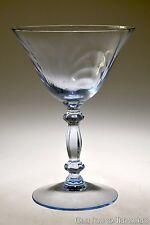 "1937 - 53 No. 300 CAPRICE Cambridge MOONLIGHT BLUE 5 5/8"" Tall Sherbet Champagne"
