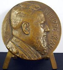 Medaille Philippe Kah avocat au barreau de Lille c1920 sc Felix Desruelles medal