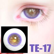 TATA glass eyes TE-17 14mm/16mm for BJD SD MSD 1/3 1/4 size doll use purple