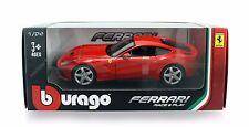 "Bburago Race & Play 1:24 scale Ferrari F12 Berlinetta 7"" diecast model Red B404"