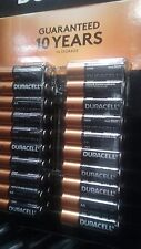 Duracell Batteries coppertop alkaline AA 40 pack  guaranteed 10 years