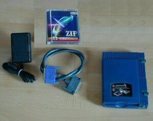 ZIP Drive Laufwerk Z100P2 100MB Iomega extern Parallel-Port Druckerport