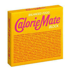 Otsuka Calorie Mate Block Balanced Energy Nutrition Food Maple Flavor 4 Bars