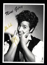 Nini Gery Autogrammkarte Original Signiert ## BC 59460