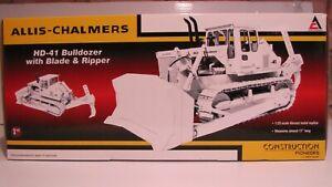 FIRST  GEAR  --  ALLIS  --  CHALMERS  --  HD - 41  --  DEMO  (WHITE)