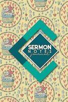 Sermon Notas Diario:Sermon Libros,Sermon Workbook,Sermon Log Book , Sermon No