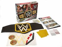 WWE WRESTLING MAKE YOUR OWN CHAMPIONSHIP TITLE BELT JOHN CENA NEW GIFT