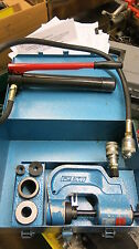 """Izumi Sch-2Wp 1/2"""", 3/4"""", 1"""" Conduit Chassis Punch- T189"""