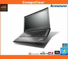 "IBM LENOVO THINKPAD T430 14"" LAPTOP CORE i5 2.6GHz 4GB RAM 320GB HDD WIN 7 PRO"