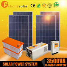 Felicitysolar 3.5KVA Solar Energy Solar Panel Off/On Grid System Home 5 kwh