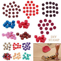 100pcs Sealing Melting Beads Wax for Seal Letters Stamp Wedding Invitation Card