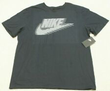 New Nike Obsidian Blue T-Shirt Cotton Tee Mans Solid Graphic XL X-Large $25 MSRP