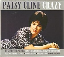 PATSY CLINE CRAZY - 2 CD BOX SET - INCLUDING CRAZY, LOVESICK BLUES & MANY MORE