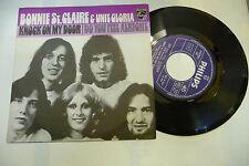 """BONNIE ST.CLAIRE""""KNOCK ON MY DOOR-disco 45 giri PHILIPS Italy 1975 PROG.UK"""""""