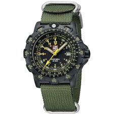 EMS Free ! Luminox Field Sports 8825.KM Recon Point Man Military Watch Green NEW