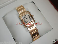 CARTIER TANK FRANCAISE LADIES' 18KT YELLOW GOLD REF: W50002N2