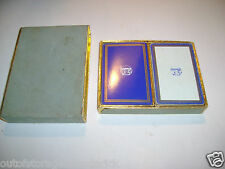 Vintage Congress Playing Cards ~ Double Deck Set ~ Advertising TITANOX  53 Cards