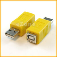 USB 2.0 Type A Male to 4pin Type B Female Adapter Converter