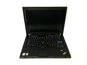 IBM T61 7659-11U Laptop C2D 1.8GHz 2GB RAM 100GB HDD CDRW-DVD