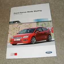 Ford Focus Body Styling By MS Design Brochure 2005-2006