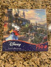New Kinkade Disney Puzzle Sleeping Beauty Dancing Enchanting Light 750pc