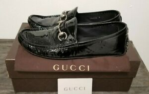 Pre-Owned Gucci Mens Black/Nero Gucci Loafer Size 10US (9UK)
