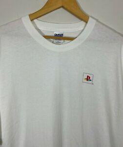 Vtg 90s Sony PlayStation 1 One PS1 T-shirt Sz XL Promo Video Game