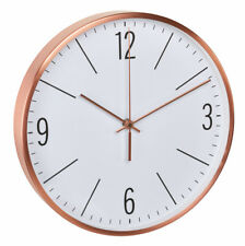Analog Clock Copper TFA 60.3534.51 noiselessly dcf-77 Radio Controlled Clocks