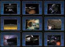 Star Trek TNG Complete S1 USS Enterprise Full 9 Card Chase Set