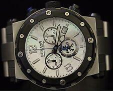 Renato Master Horologe Mens Destructor Limited Edition DE.I SS Dress Watch NEW