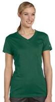 Russell Athletic Women's Dri Power Moisture Wicking V-Neck T-Shirt. JUL1JW