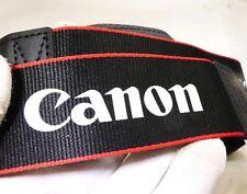 Canon camera Neck Strap RED Black EOS Genuine OEM 4cm wide
