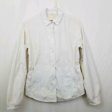 Prada White Women's Light Weight Active Wear Jacket Windbreaker